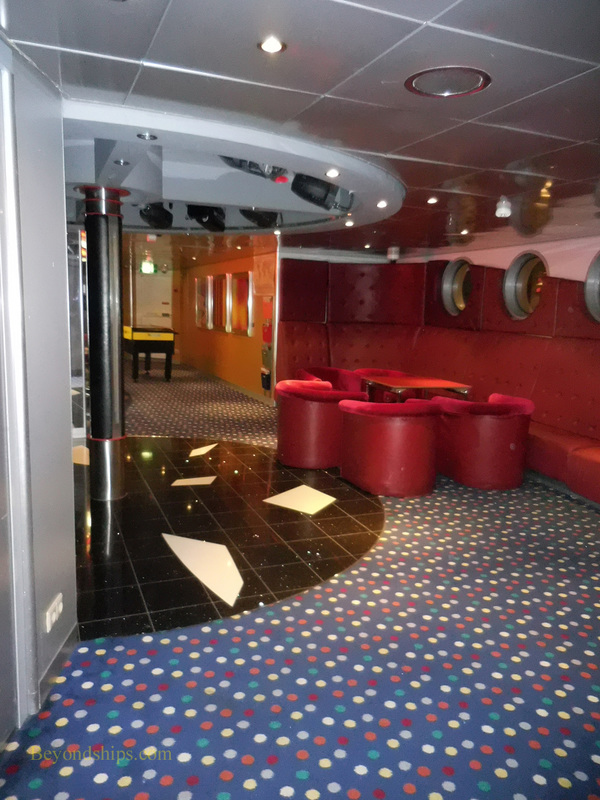 Serenade of the Seas, children's areas