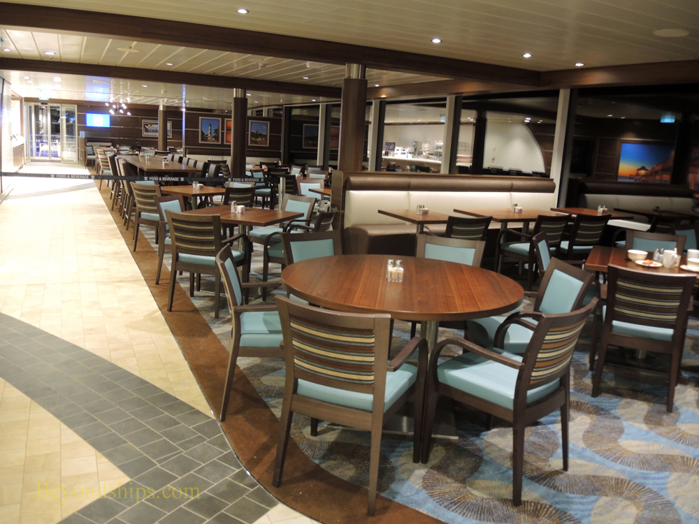 Anthem of the Seas, Windjammer buffet