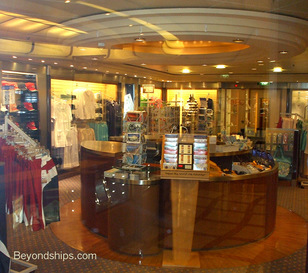 Serenade of the Seas, shops