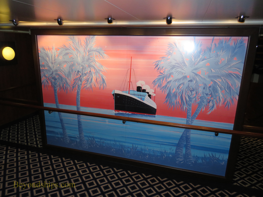 Decor, Norwegian Gem, cruise ship