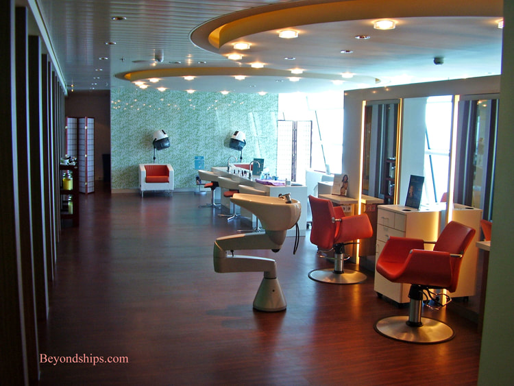 Cruise ship Navigator of the Seas, fitness salon