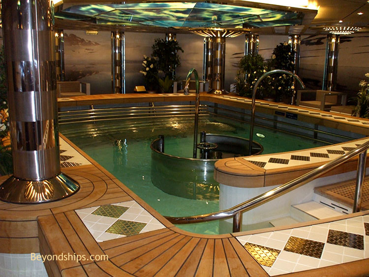 Cruise ship Navigator of the Seas, spa