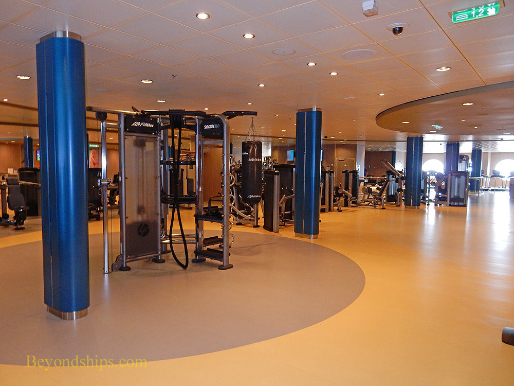Symphony of the Seas fitness center