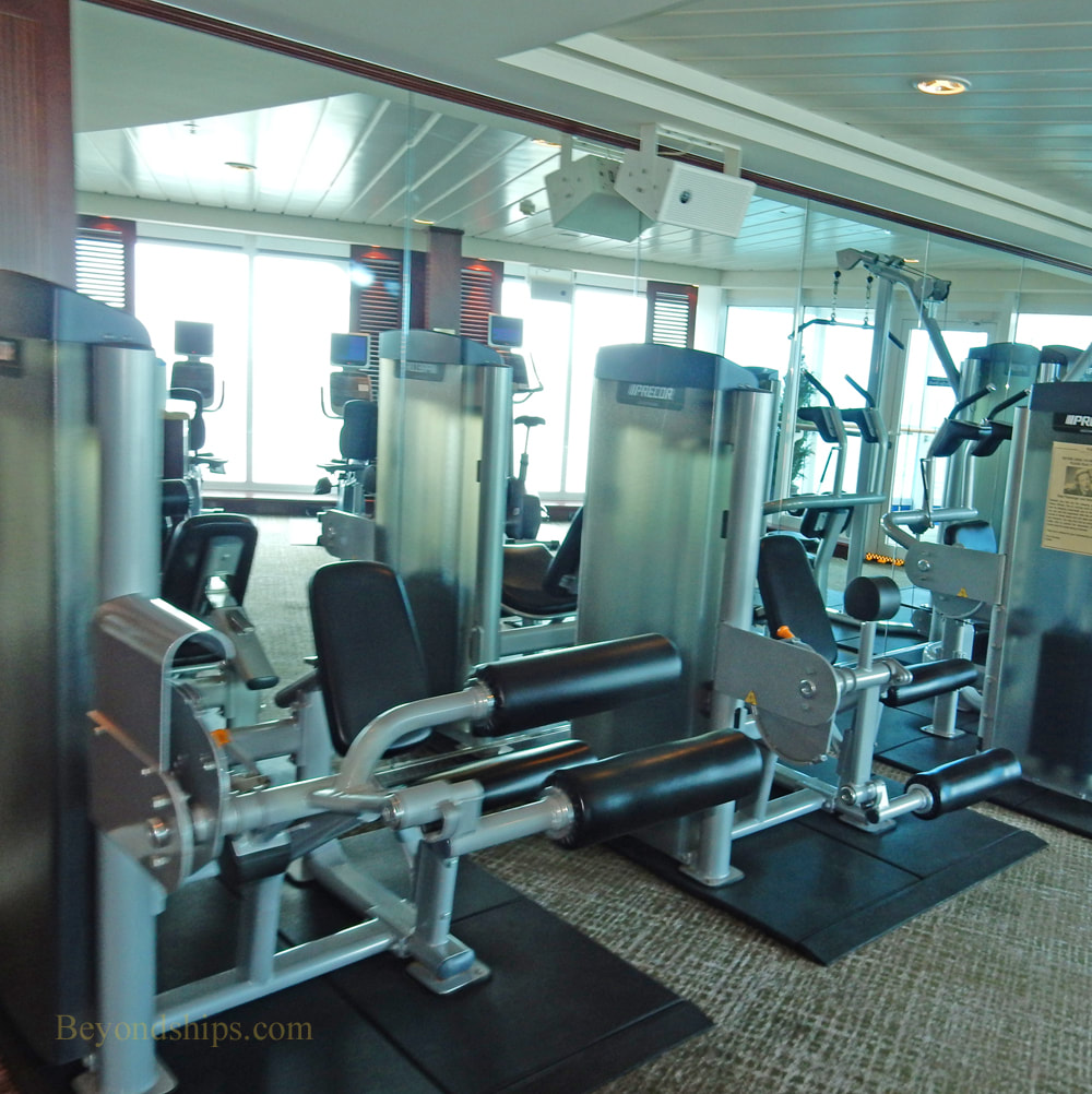 Cruise ship Pacific Princess fitness center