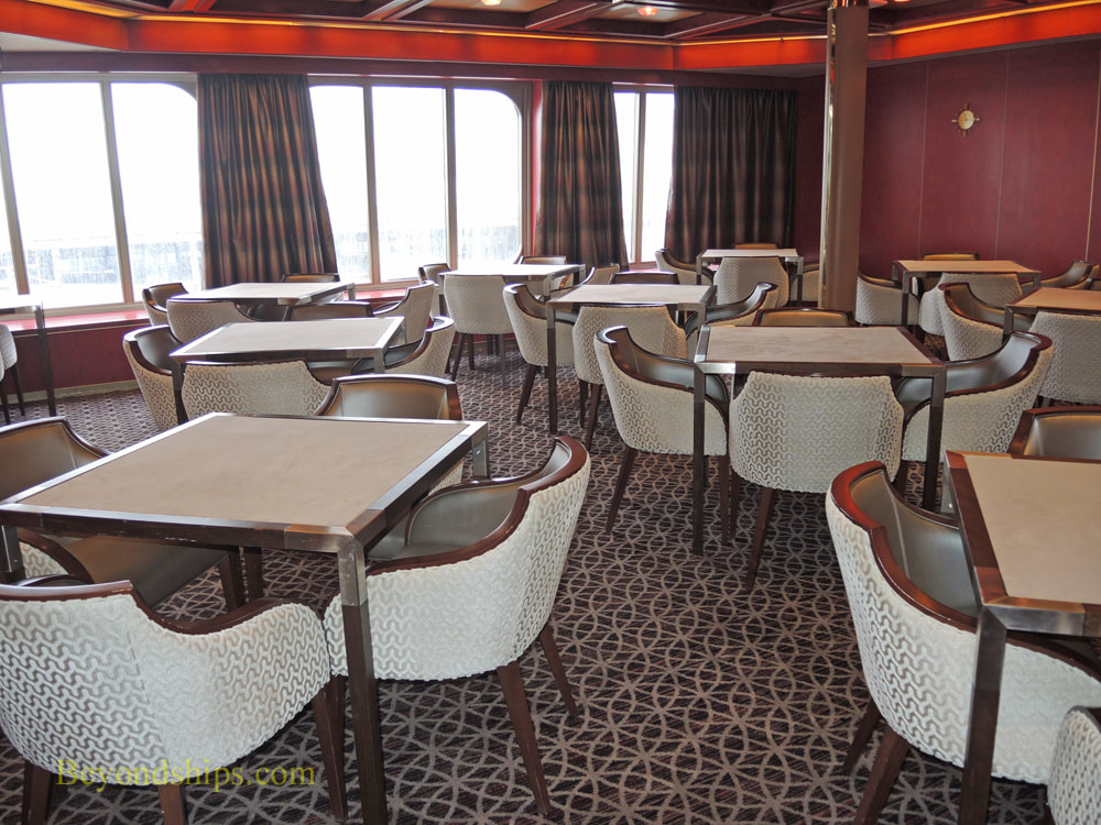 Cruise ship Rotterdam card room