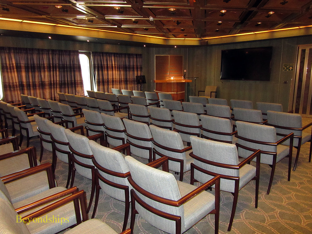 Zuiderdam cruise ship, conference room