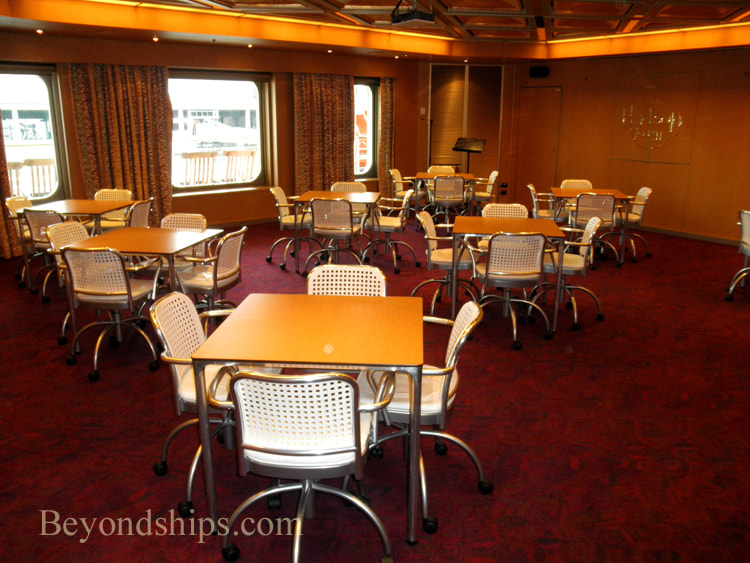 Cruise ship Veendam conference room