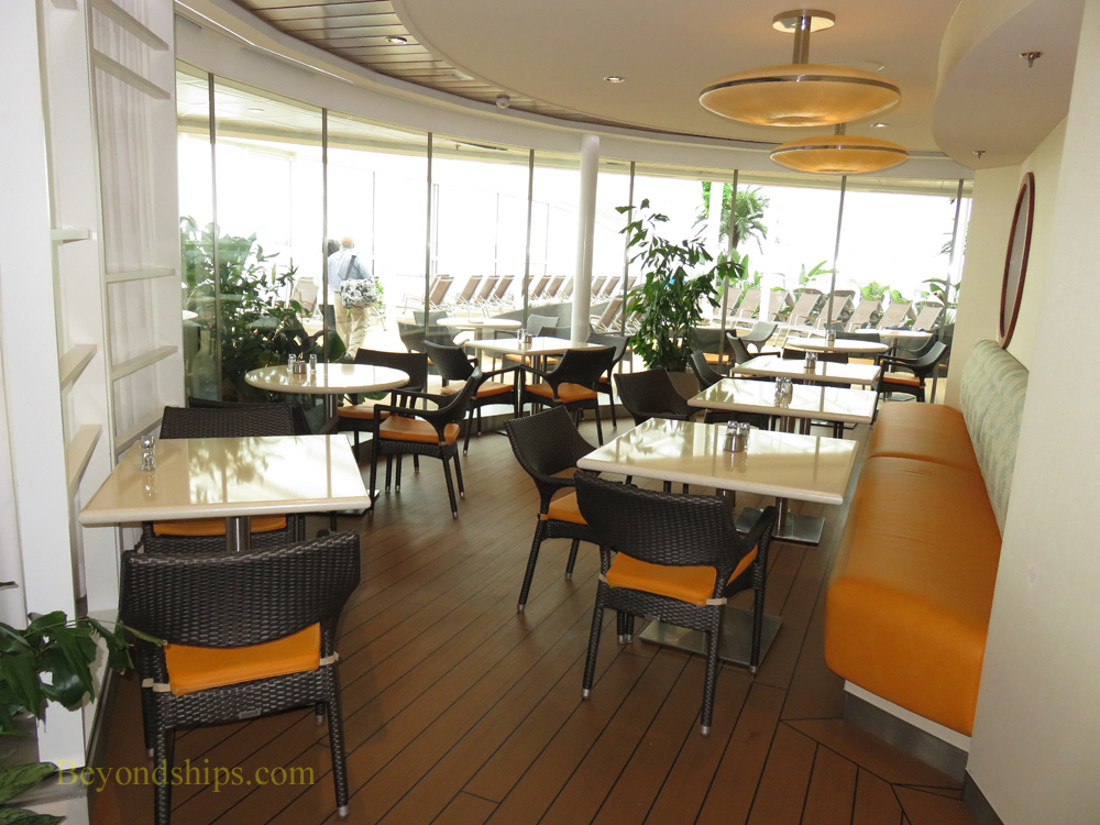 Anthem of the Seas, Solarium Bistro