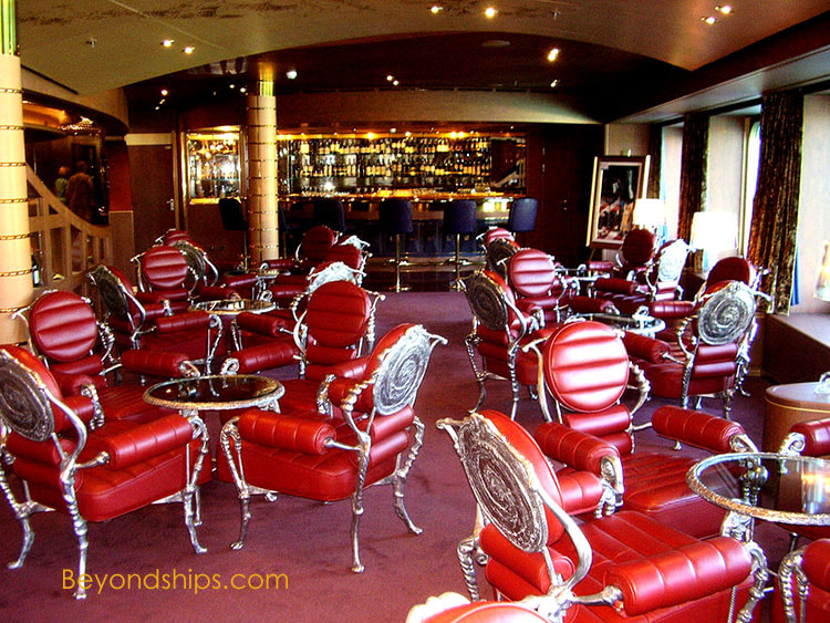 Noordam cruise ship bars and lounges