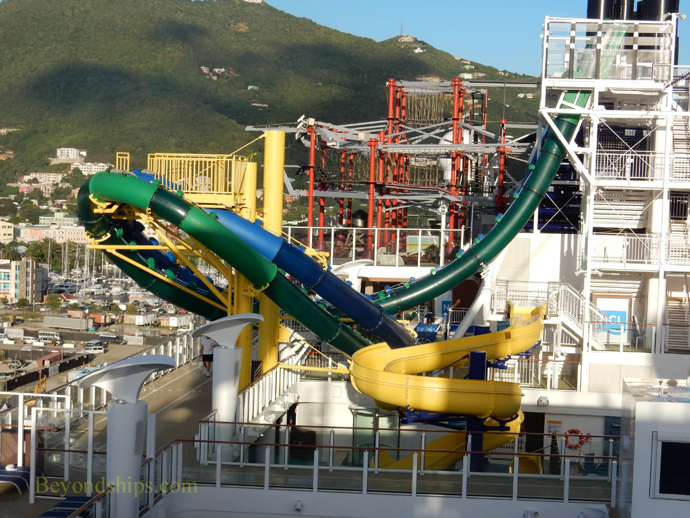 Picture Norwegian Escape cruise ship sports