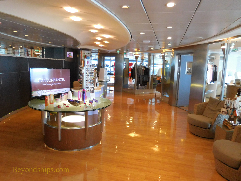 Cruise ship Celebrity Constellation spa