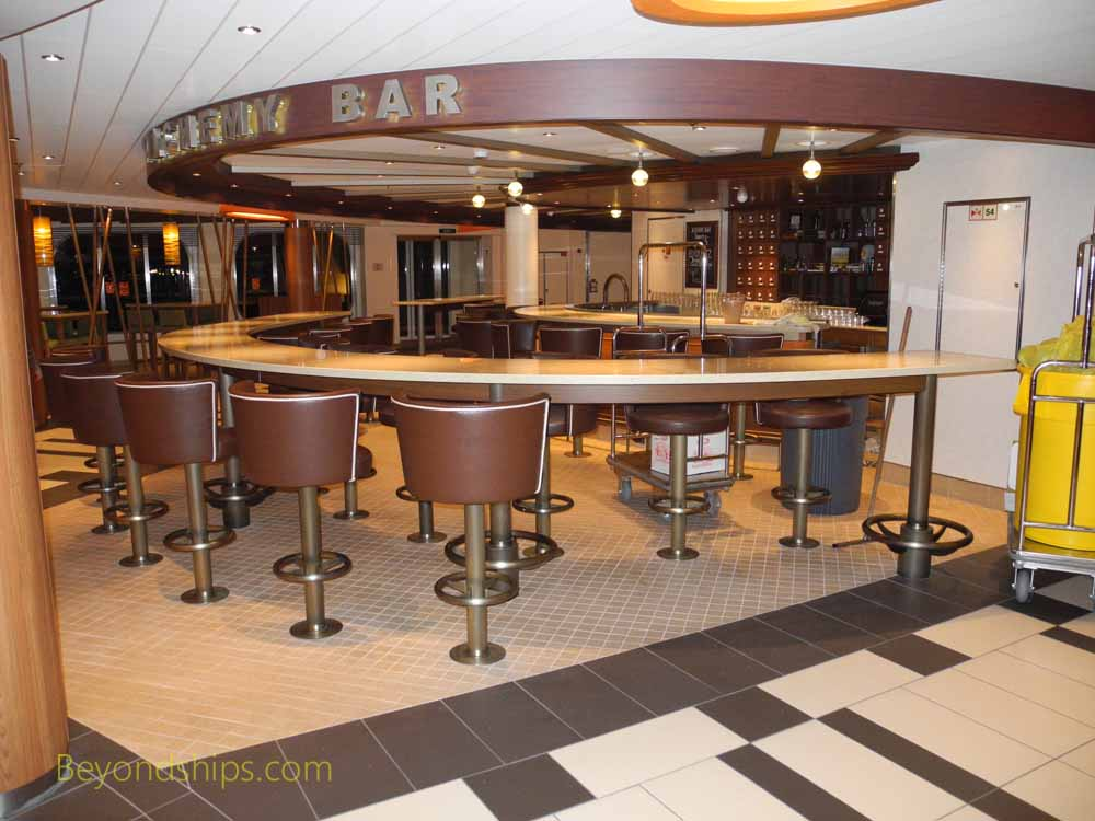 Alchemy Bar, Carnival Vista, cruise ship