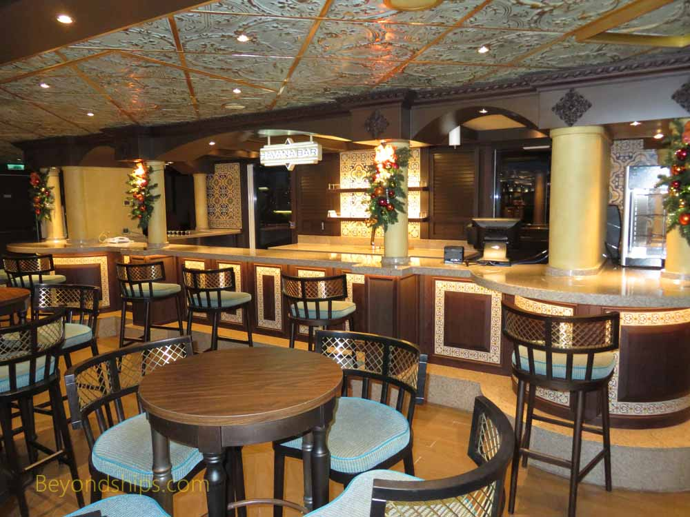 Havana Bar, Carnival Vista, cruise ship