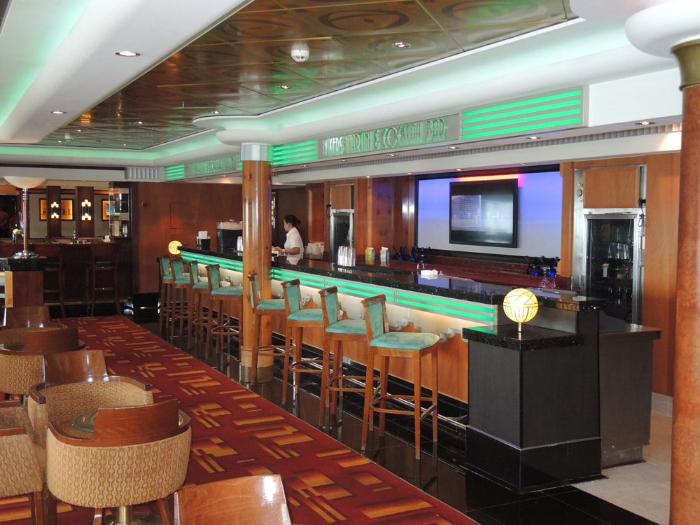 Cruise ship Norwegian Jade, bars and lounges, Mixers