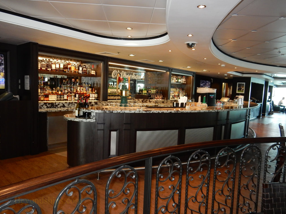 Cruise ship Norwegian Jade, bars and lounges, O'Sheehan's