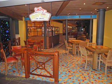 Red Frog Pub, Carnival Vista, cruise ship