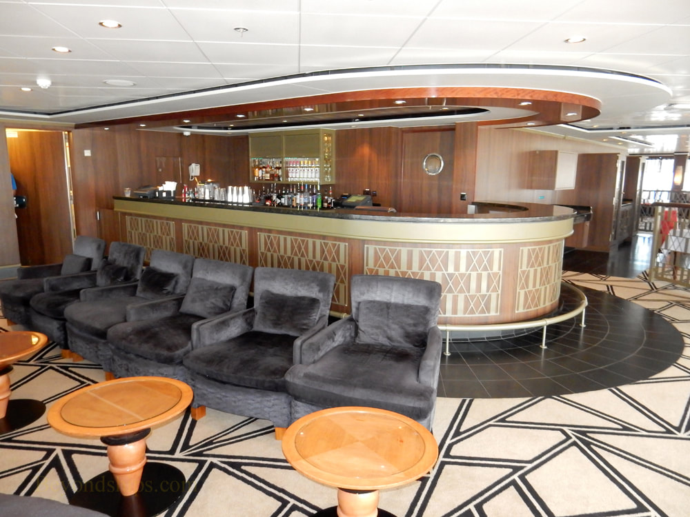 Cruise ship Norwegian Jade, bars and lounges, Sugarcane Mojito
