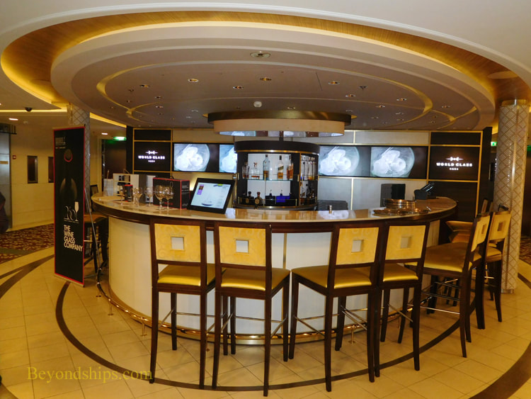 Celebrity Reflection World Class Bar