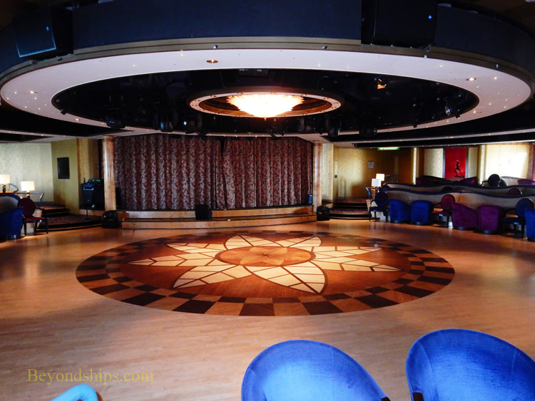 Cruise ship Aurora entertainment venues