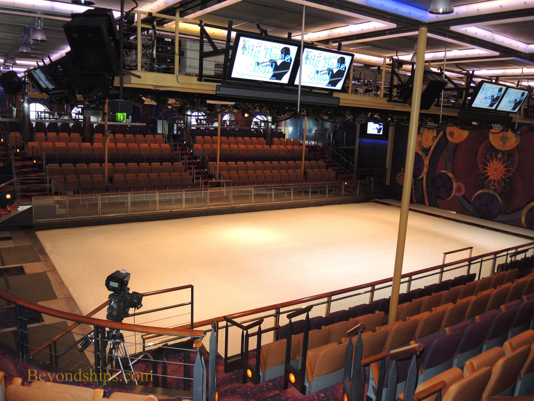 Navigator of the Seas, cruise ship,, ice rink