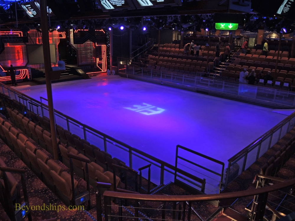 Cruise ship Freedom of the Seas, ice rink