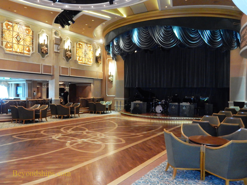 Queen Elizabeth cruise ship, The Queens Room
