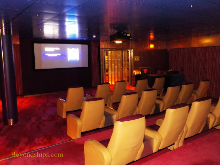 Cruise ship Oosterdam entertainment venues