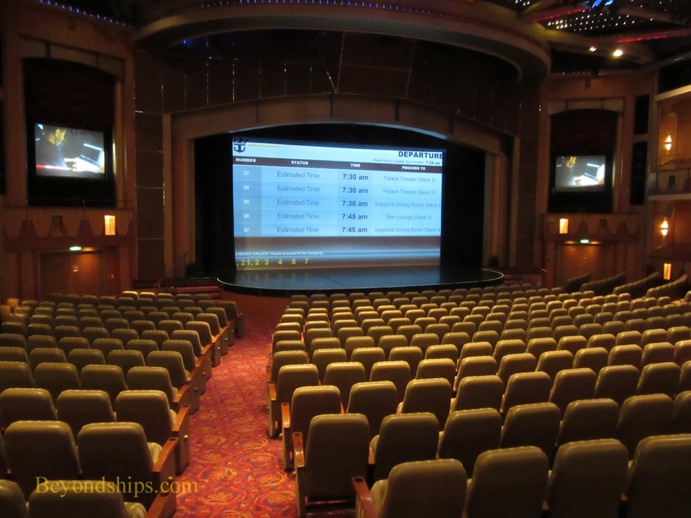 Navigator of the Seas, cruise ship, theater
