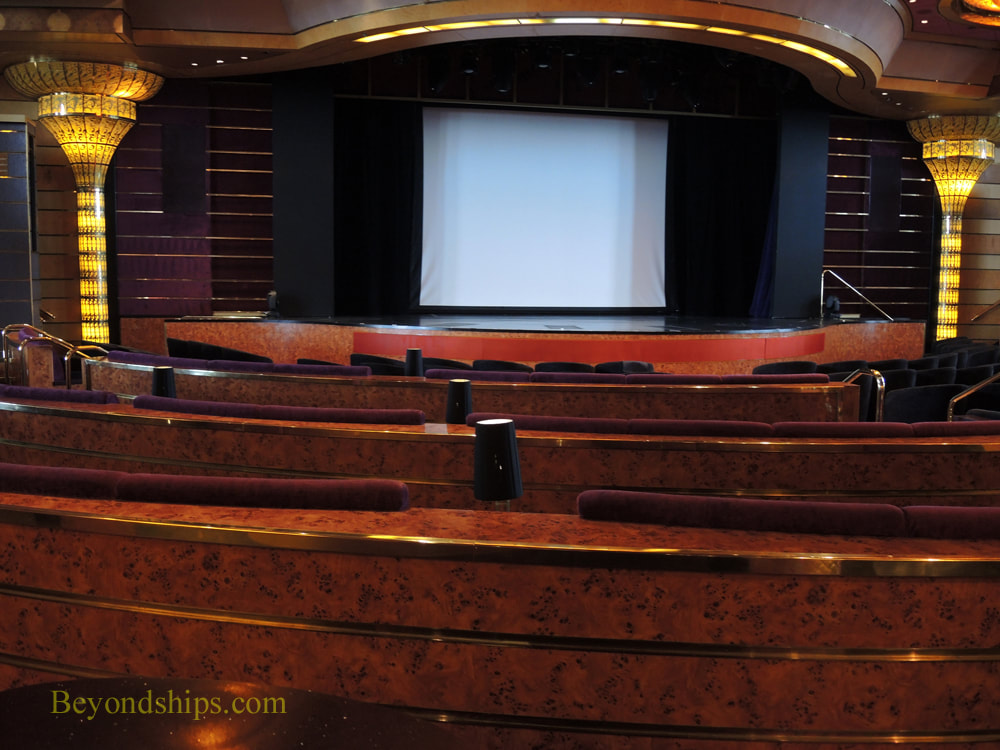 Rotterdam cruise ship theater
