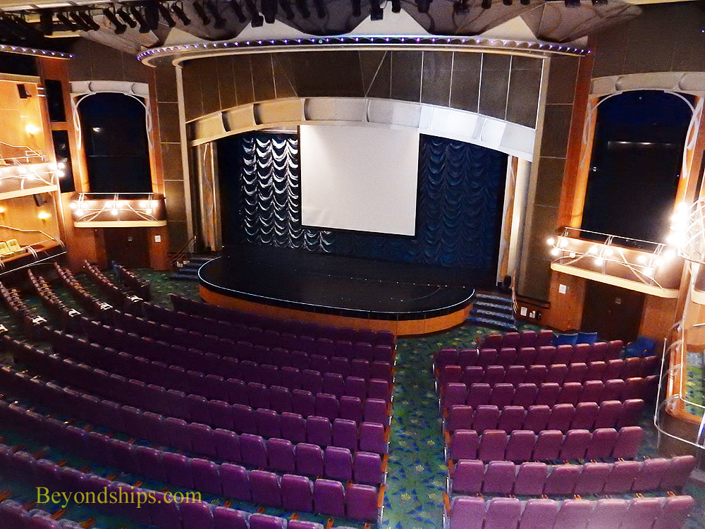 Adventure of the Seas, theater