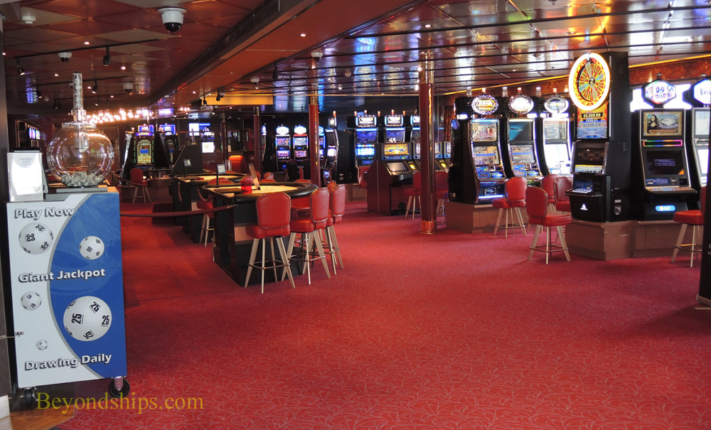 Rotterdam cruise ship casino
