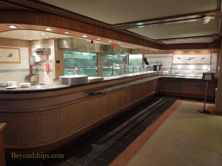 Queen Victoria cruise ship, The Lido Pool Grill
