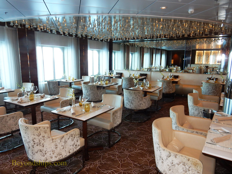 Picture Cruise ship Celebrity Reflection Luminae restaurant