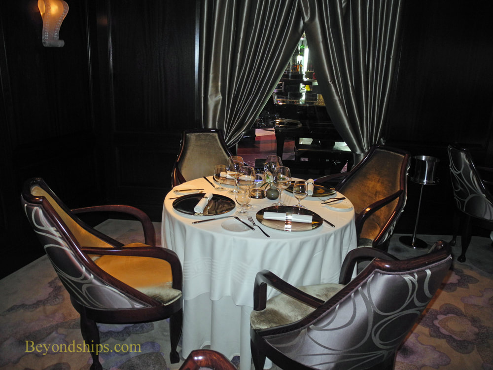 Cruise ship Celebrity Reflection specialty restaurants