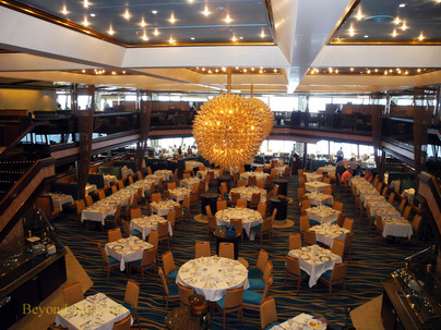 Cruise ship Carnival Sunshine, Sunrise Restaurant