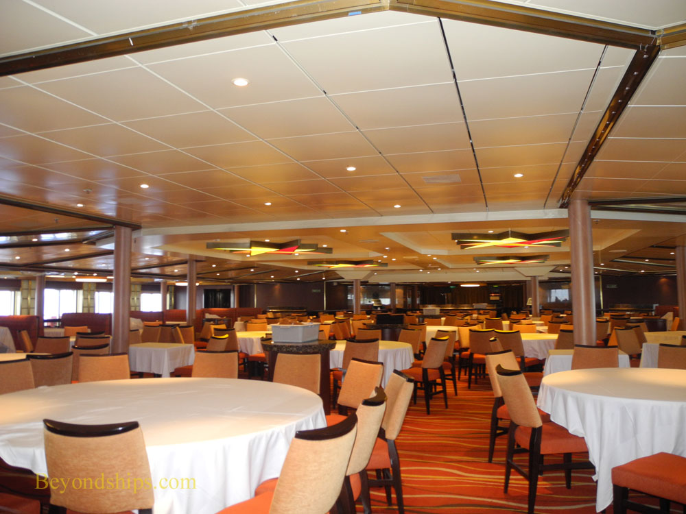Cruise ship Carnival Sunshine, Sunset Restaurant