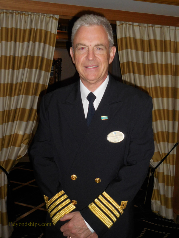 Captain Karl Bengtsson, Norwegian Gem, cruise ship