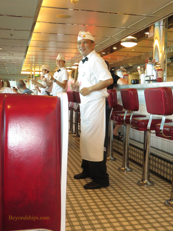 Navigator of the Seas, casual dining
