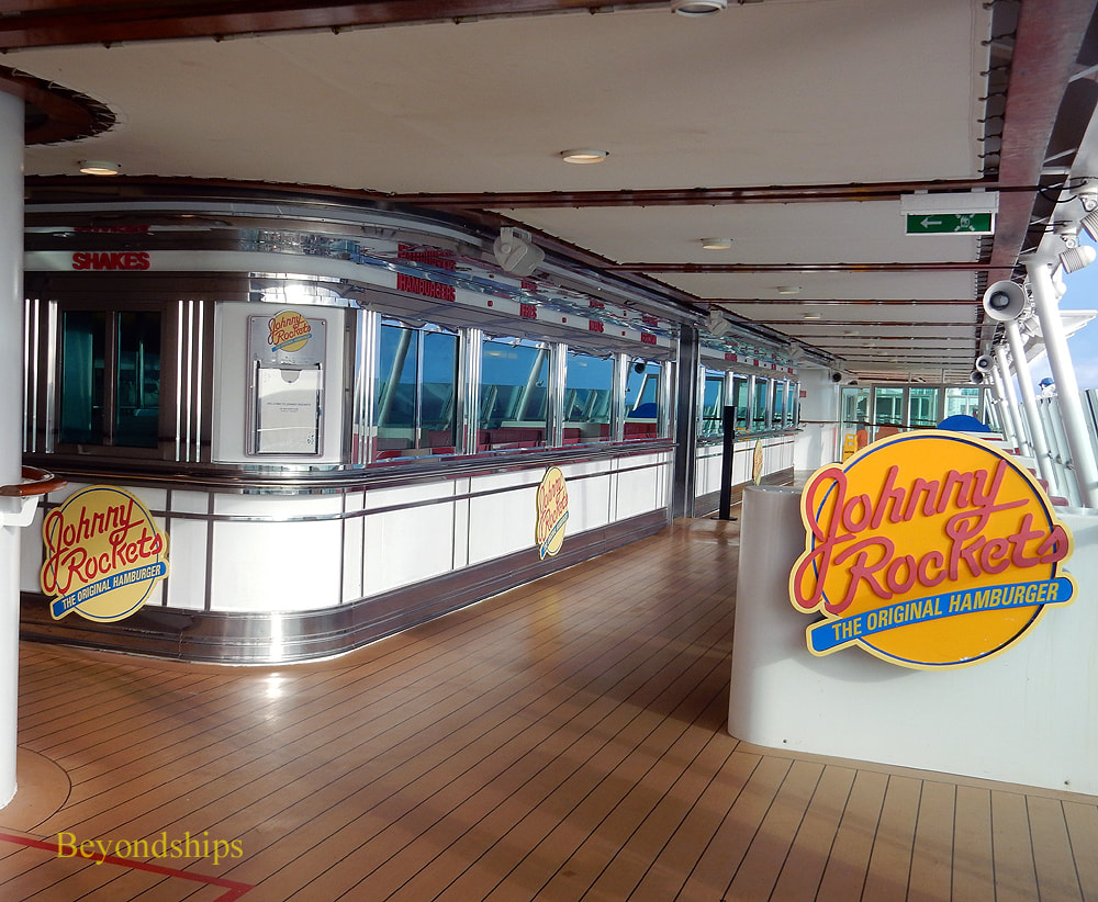 Cruise ship Independence of the Seas, Johnny Rockets