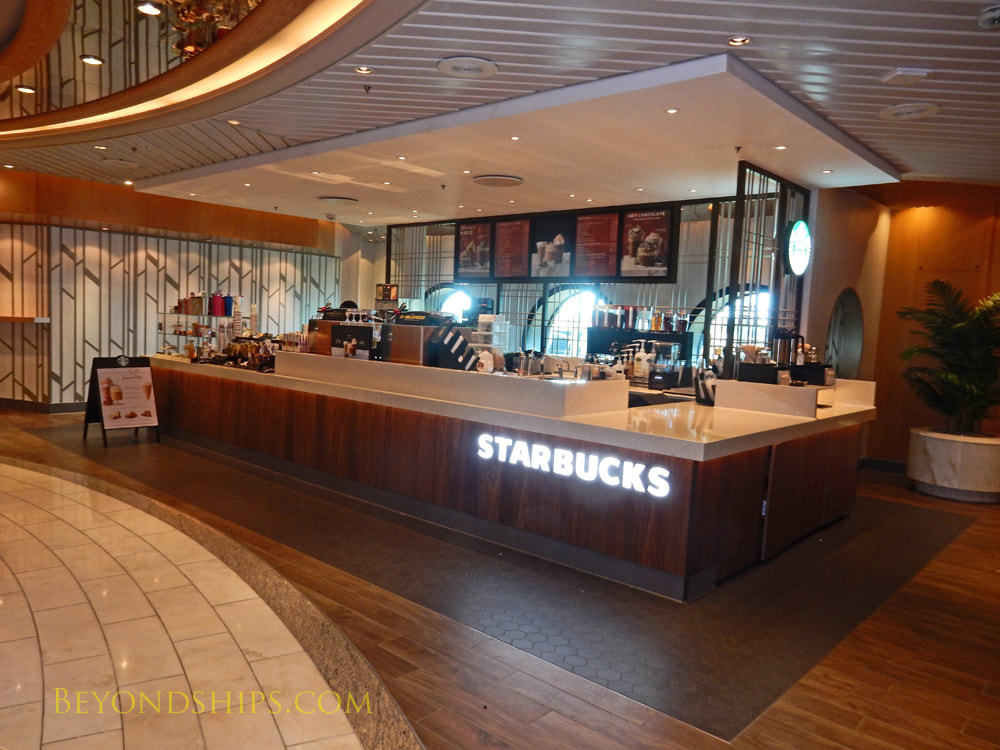 Mariner of the Seas, casual dining Starbucks