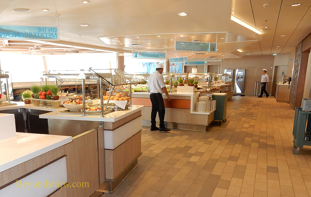 Symphony of the Seas buffet