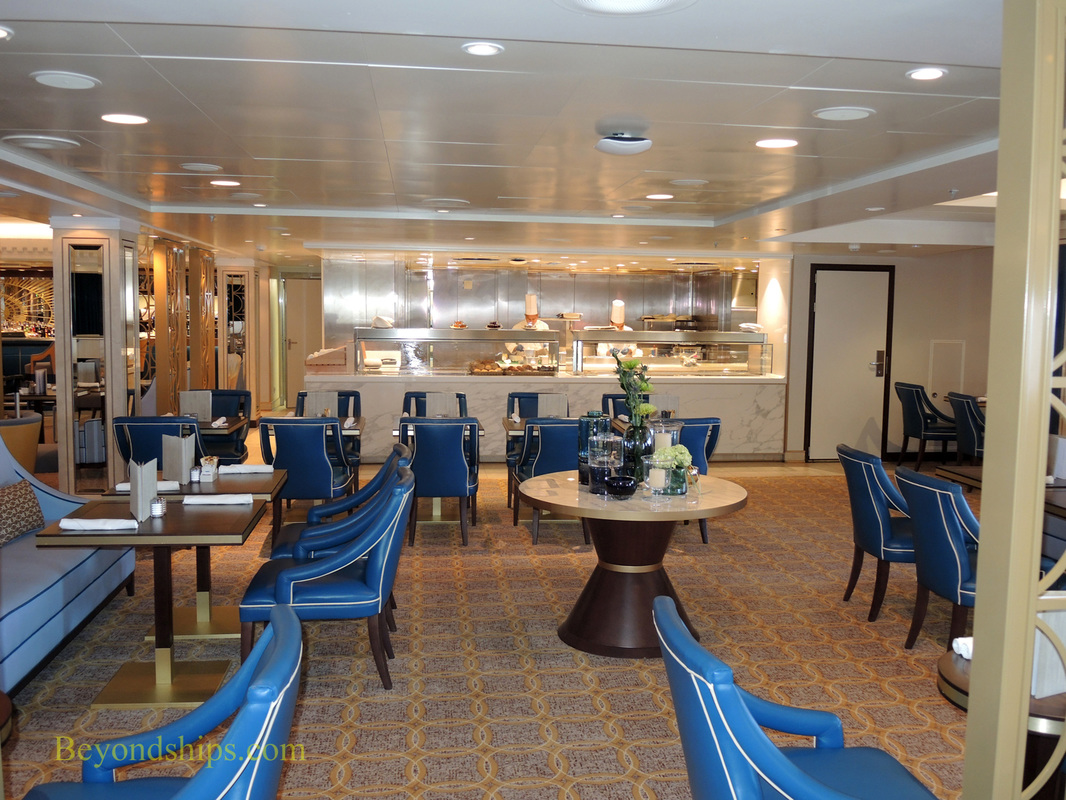 Queen Mary 2, Carinhia Lounge