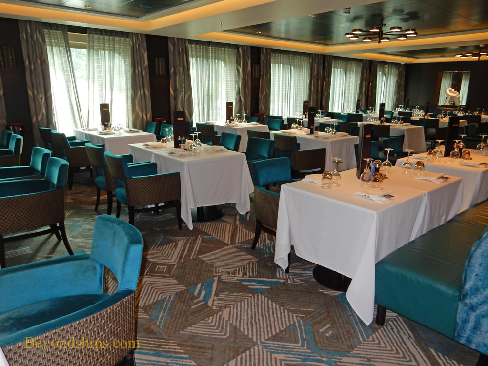 cruise ship Norwegian Bliss, main dining rooms