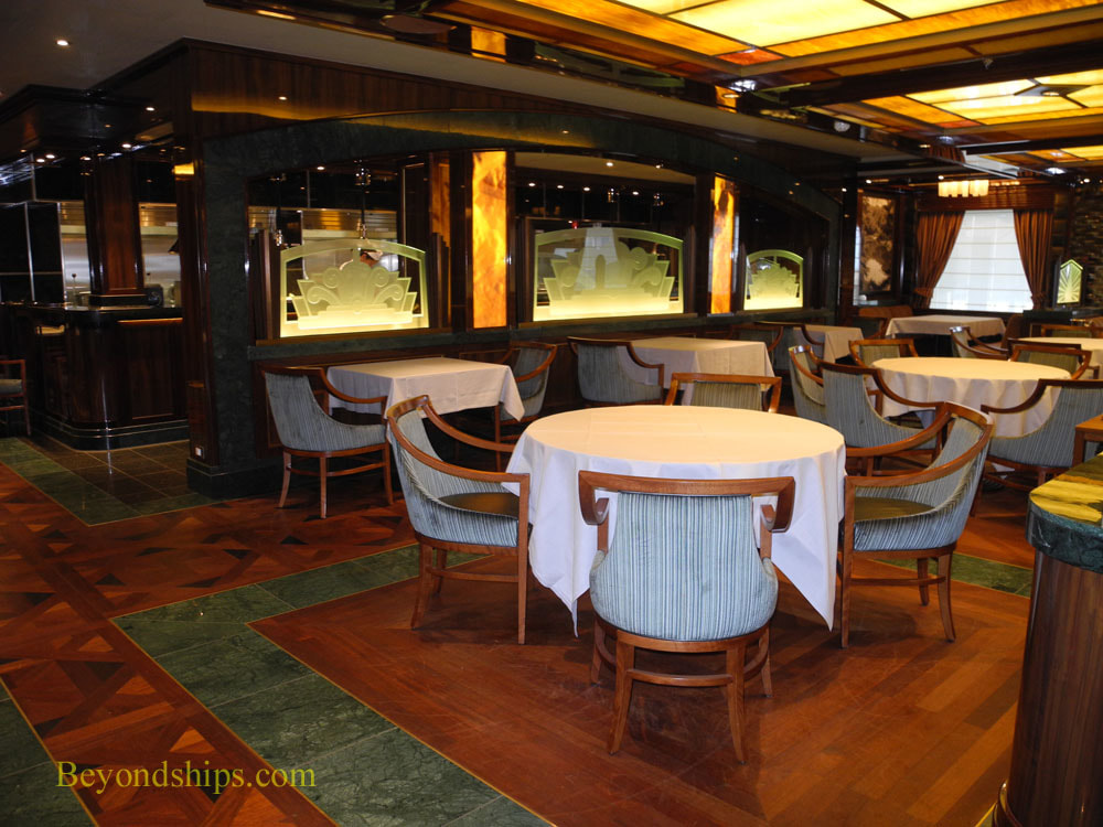 Cruise ship Regal Princess specialty restaurants