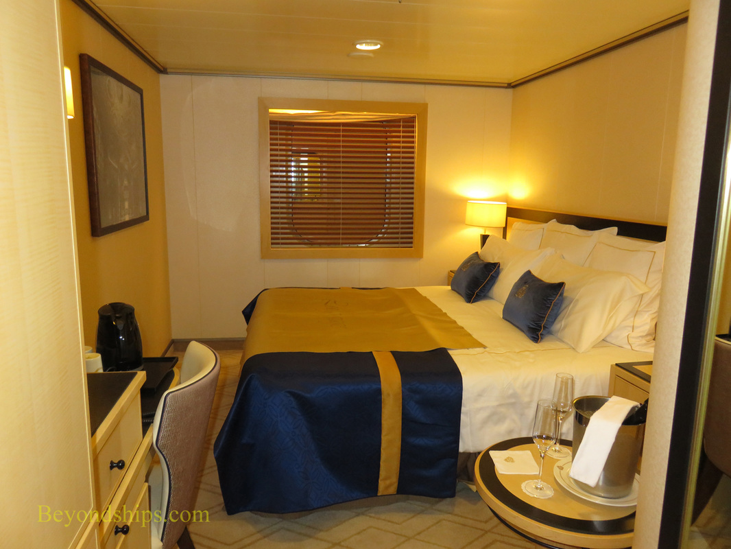 Queen Mary 2, stateroom