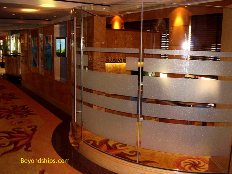 Norwegian Spirit, cruise ship, interior