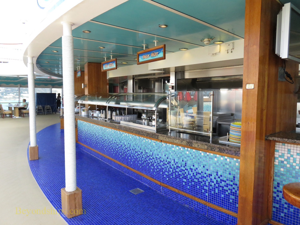 Topsiders Grill, Norwegian Gem cruise ship