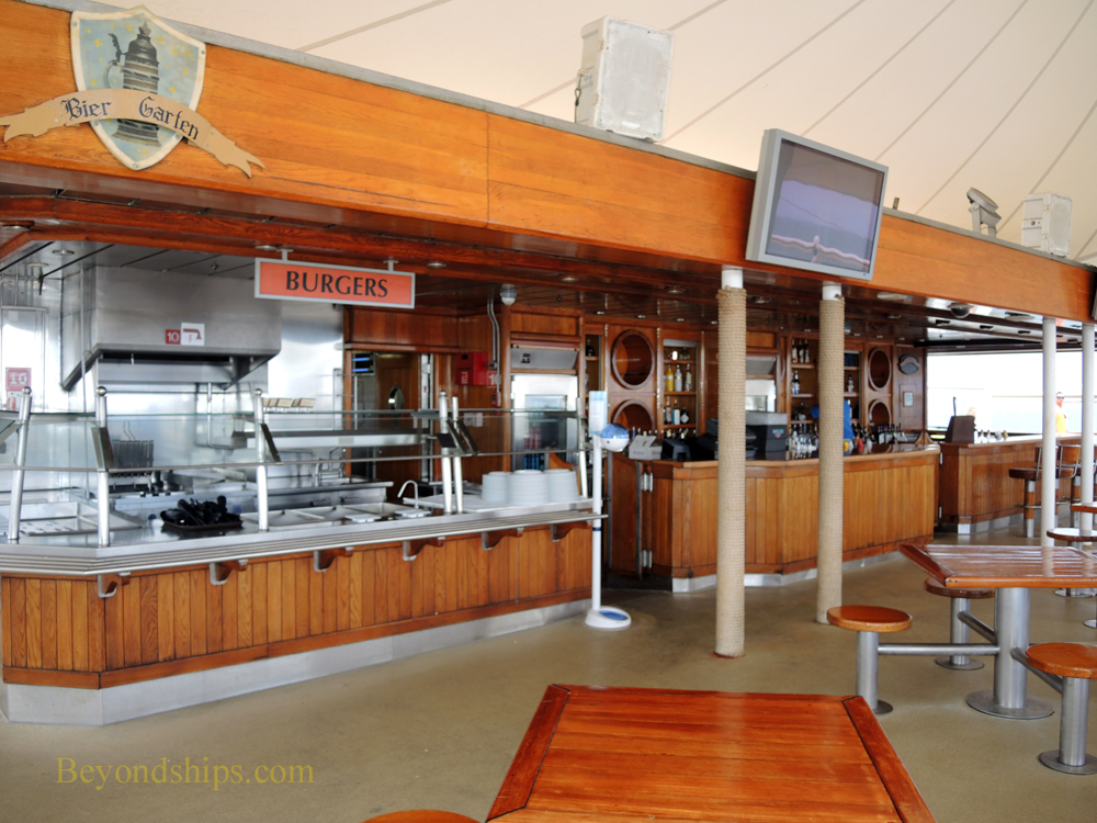 Norwegian Spirit, cruise ship, casual dining