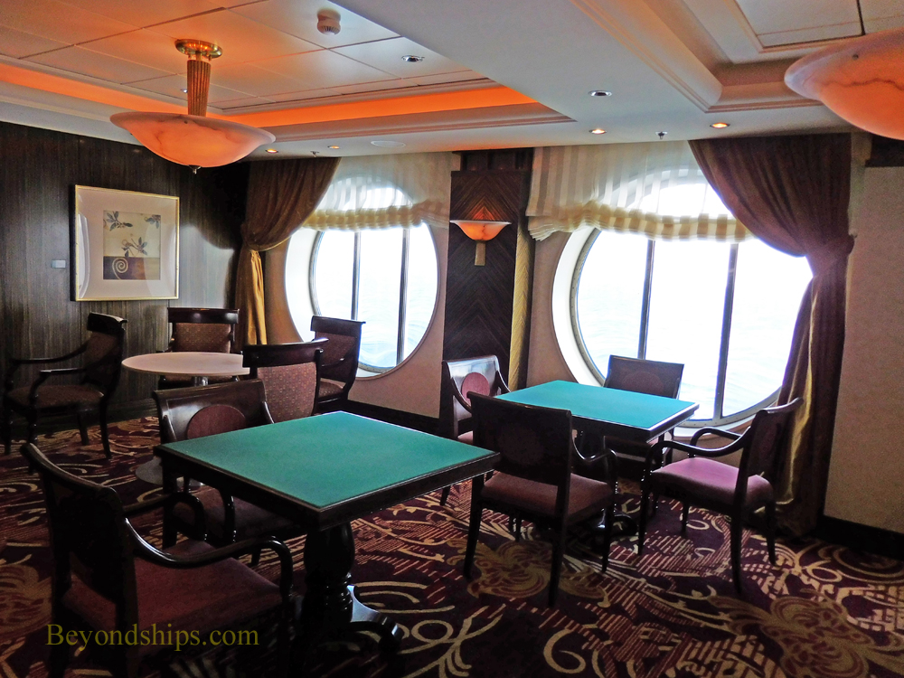 Serenade of the Seas, card room