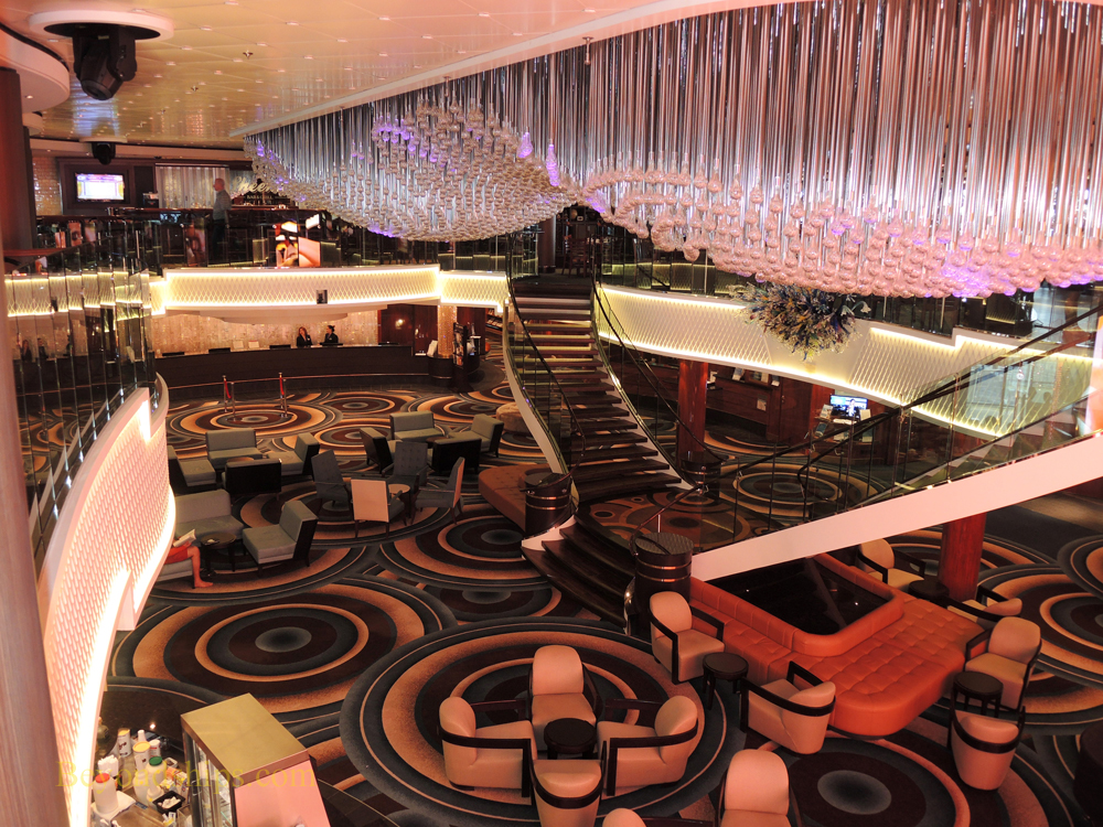Atrium, Norwegian Gem, cruise ship